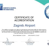 Zagreb Airport earned ACI's Airport Health Accreditation