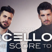 "Musical Virtuosos at Zagreb Arena – 2 CELLOS and ""Score"""