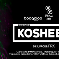 Boogaloo Club: Kosheen in Zagreb in Early-May