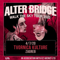 Culture factory: Alter Bridge for the First Time in Zagreb