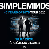 SRC Šalata: Simple Minds Again in Zagreb