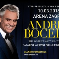 Andrea Bocelli – Exclusive Performance in Zagreb Arena