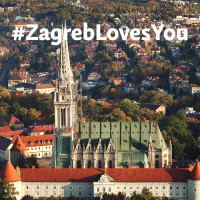 Numerous words of support came from all over the world to the Zagreb Tourist Board address
