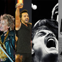 Stars of the Music World Head for Zagreb - Roger Waters, Rod Stewart, Editors, Mando Diao, Luis Fonsi